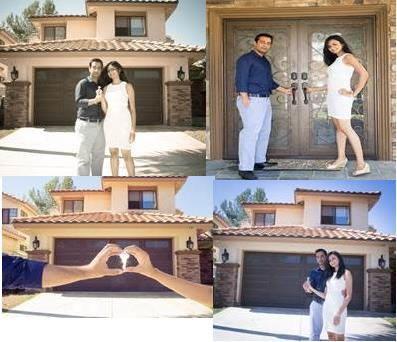 Happy physician homeowners in CA