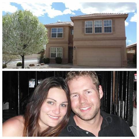 Price family, new homeowners