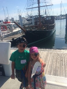 Kids and Pirates