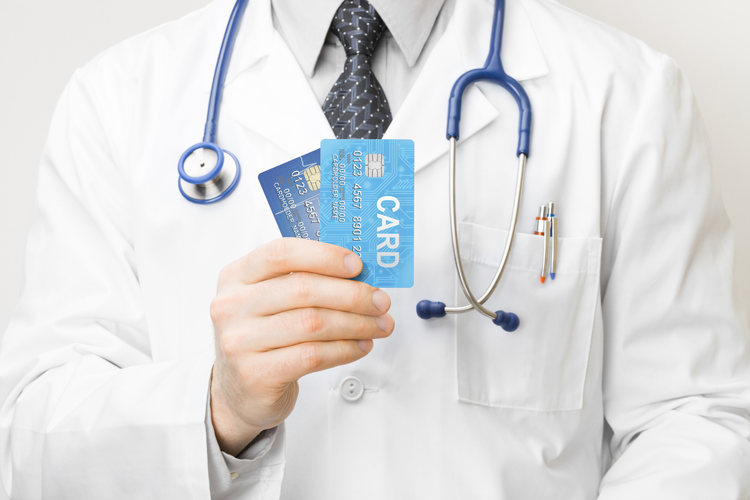 Doctor leverage credit cards